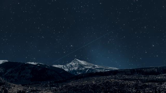 AviUtl、ノイズで星空を作る